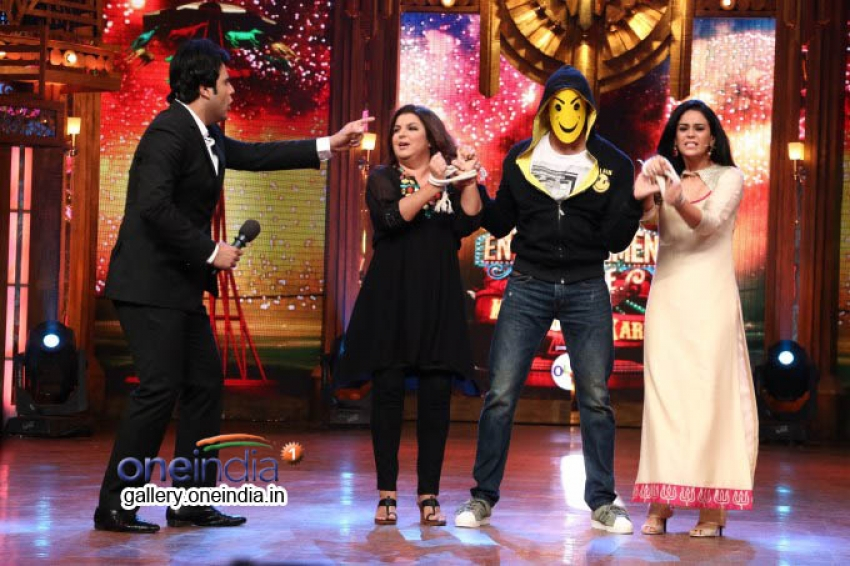 Ek Villian Promotion on Entertainment Ke Liye Kuch Bhi Karega Photos