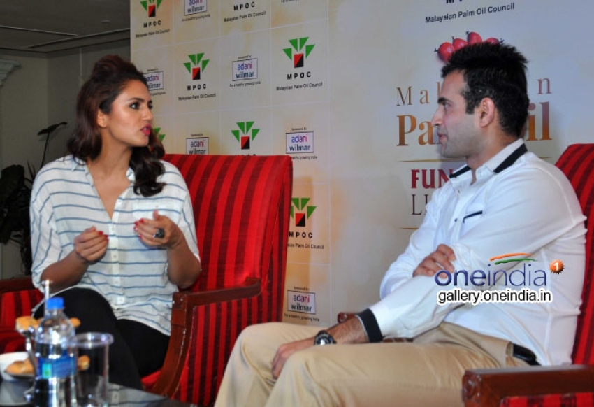 Huma Qureshi and Irfan Pathan attend Malaysian Palm Oil Event Photos