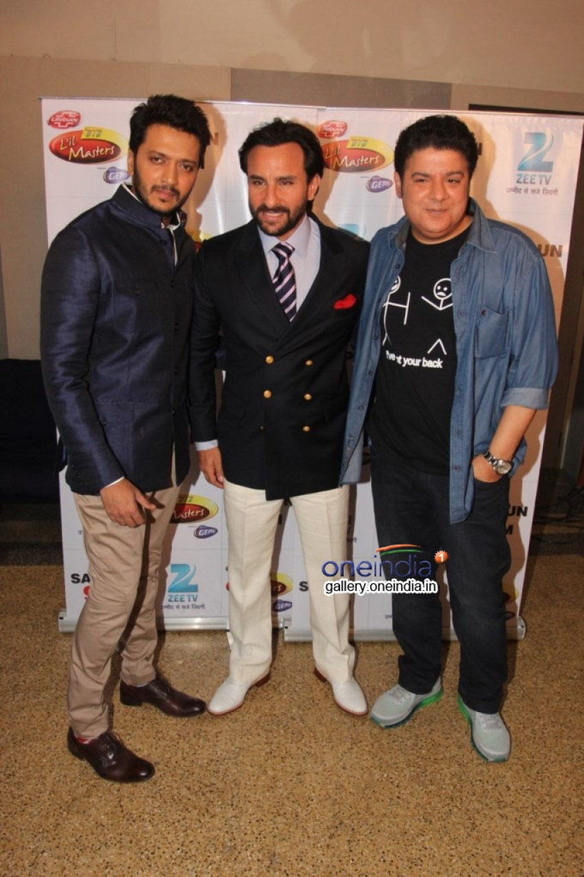Humshakals Promotion on the sets of DID Little Master Season 3 Photos