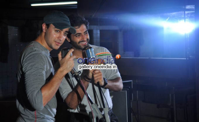 Imran Khan on the sets of film Pizza Photos