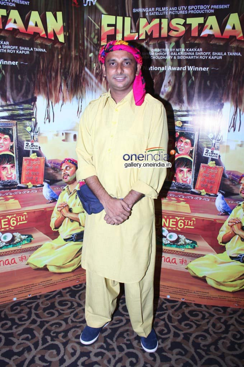Sharib Hashmi And Inaamulhaq Promote 'Filmistaan' During a Media Interaction Photos
