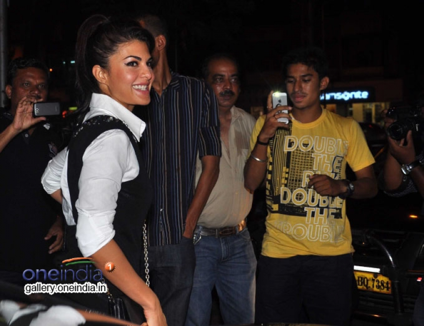 Jacqueline Fernandez Launches Spa Ceylon Photos