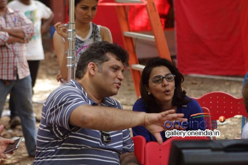 Kapoor Khandan present on the first day of Armaan's Shoot Photos