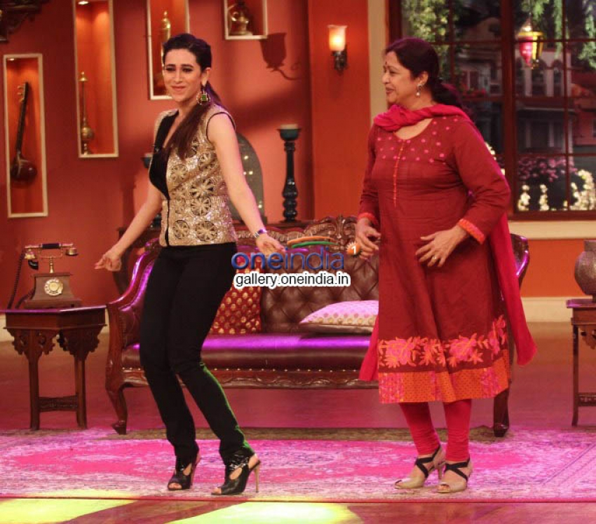 Promotion of Lekar Hum Deewana Dil on the sets of Comedy Nights with Kapil Photos