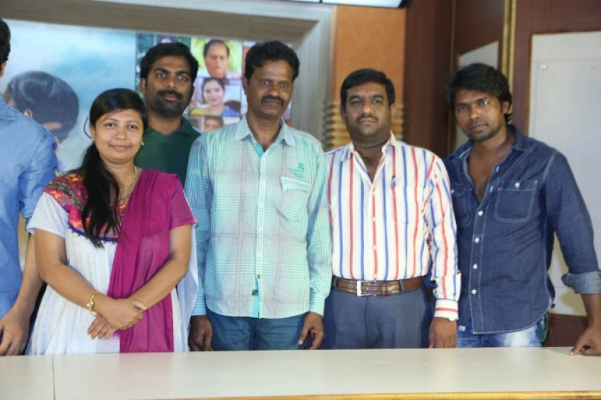 Manasa Thulli Padake Press Meet Photos