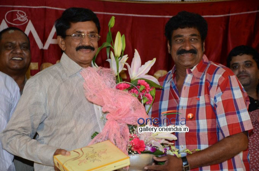 Murali Mohan and Raghu Babu Birthday Photos