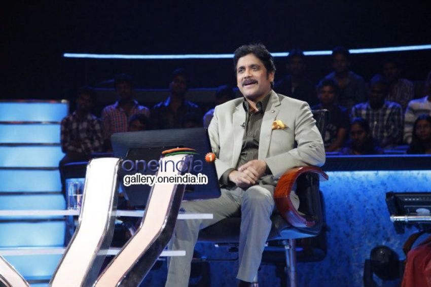 Nagarjuna to host Meelo Evaru Koteeswarudu Photos