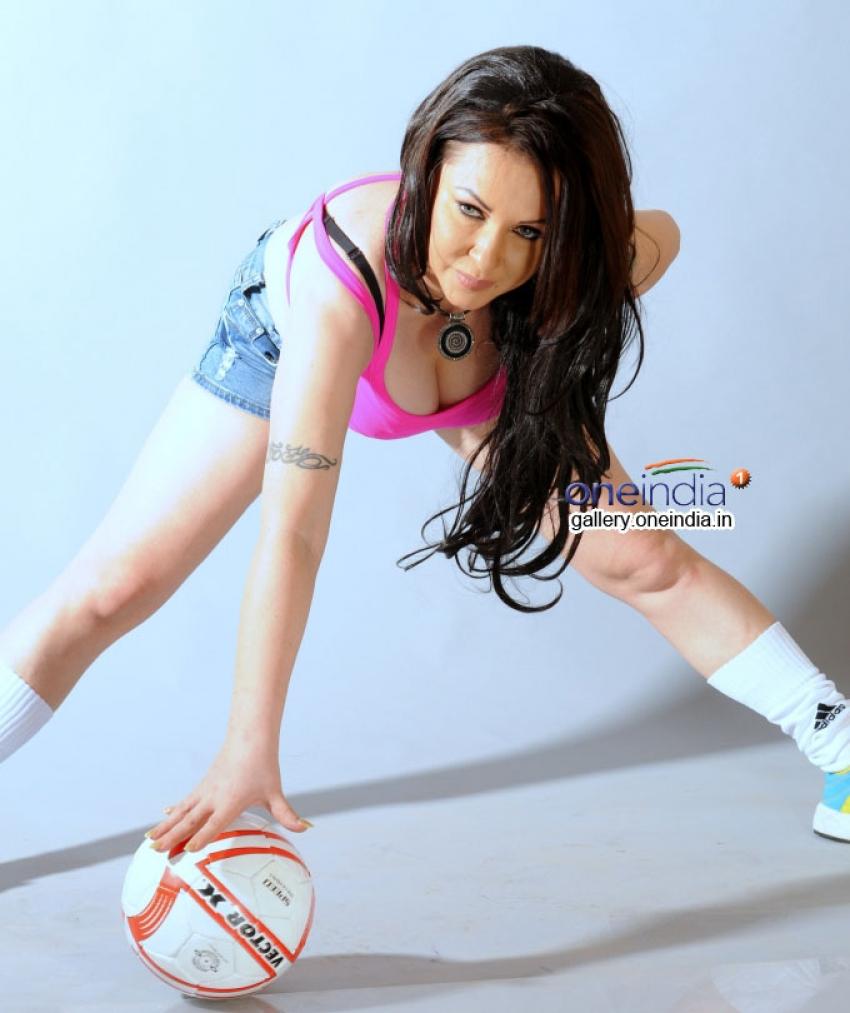 Nataliya Kozhenova Exclusive Photoshoot for FIFA World Cup Photos