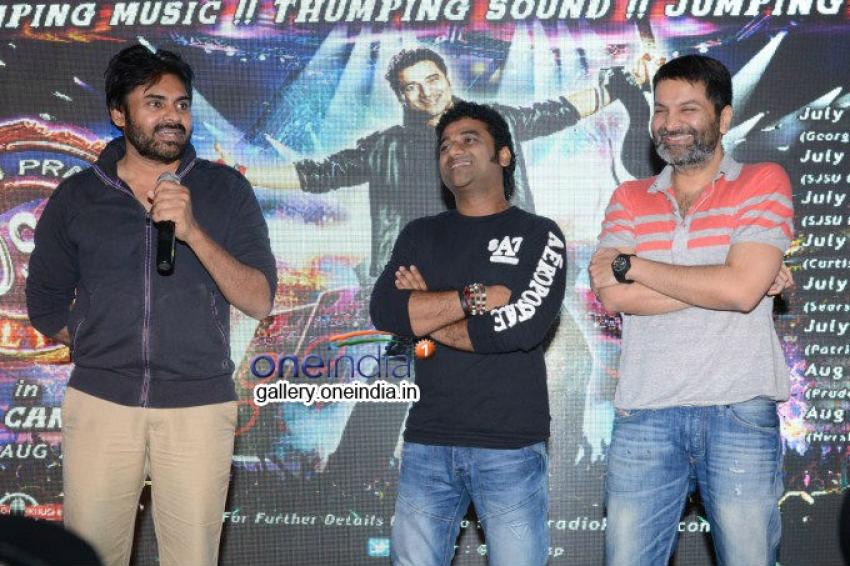 Pawan Kalyan Launches DSP Rock USA Canada Tour Video Album Photos