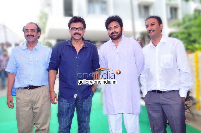 Gopala Gopala Movie Launch Photos