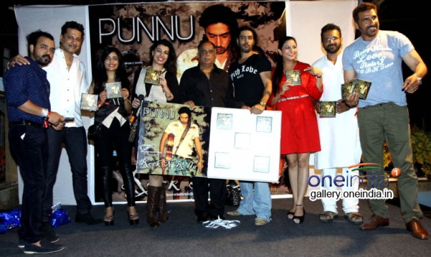 Punnu Brar's Rock N Rolla Album Launched Photos