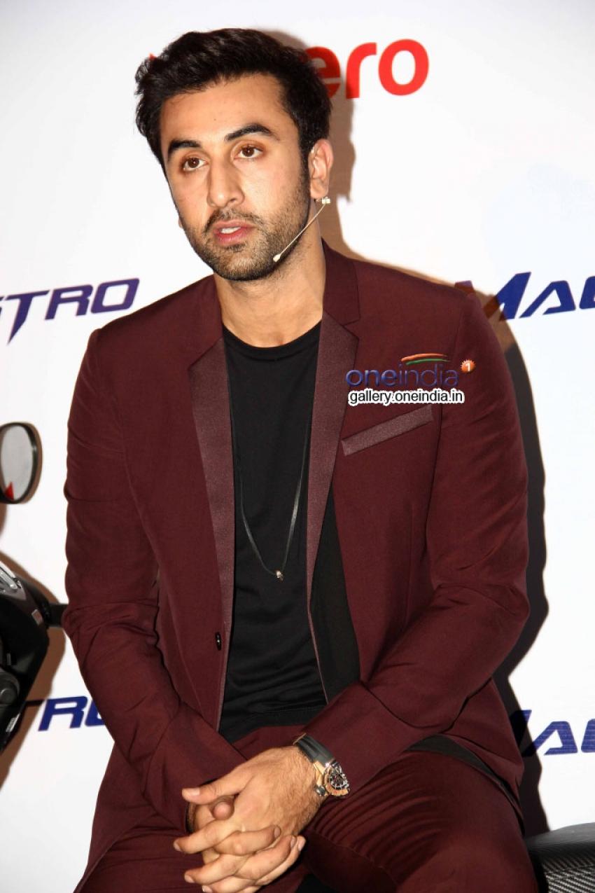 Ranbir Kapoor Launches Hero MotoCorp Photos