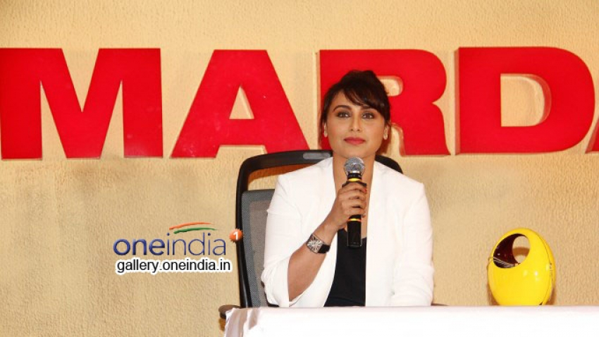 Mardaani Trailer Launch Photos