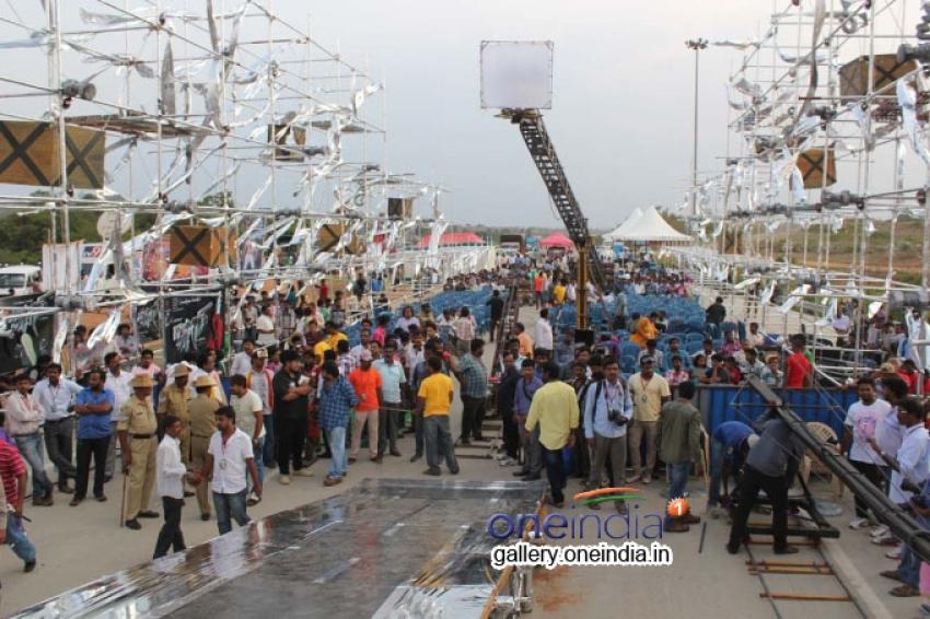 Ravichandran's Ranadheera Film Opening Photos
