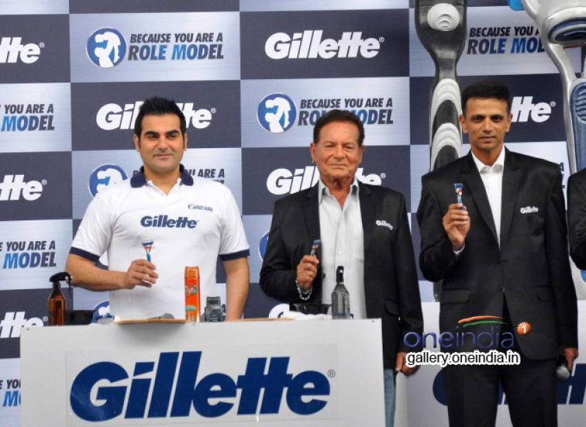 Gillette Nationwide Campaign Because You are a Role Model Photos