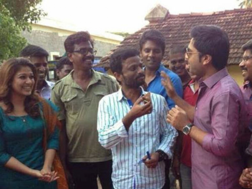 Simbu and Nayantara Celebrates Pandiraj's Birthday Photos