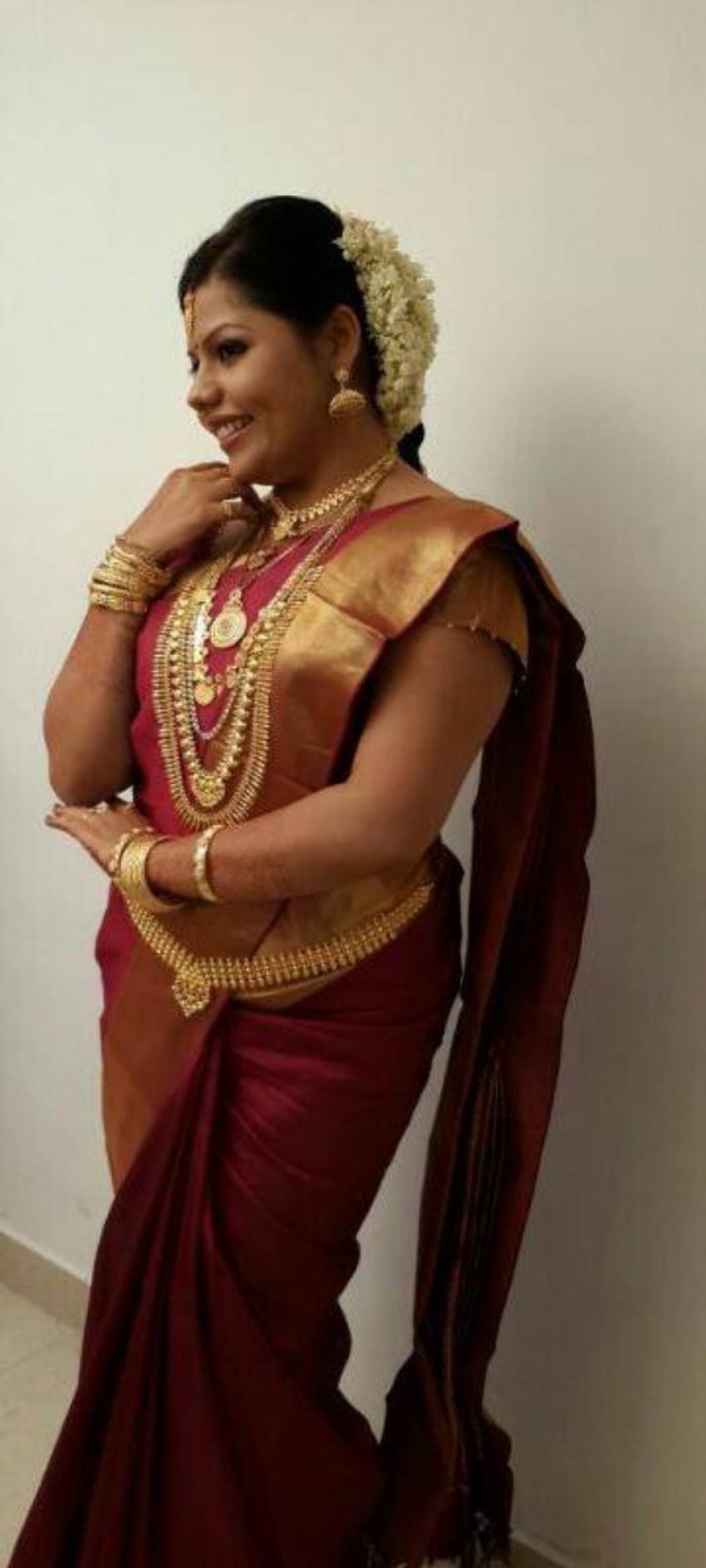 Sneha Sreekumar Marimayam Fame Wedding Photos