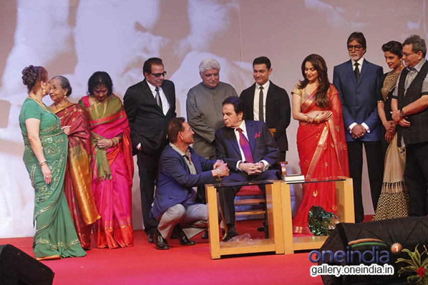 Star Studded at Dilip Kumar's Autobiography Launch Photos