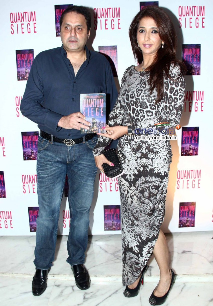 Amitabh Bachchan Launches Quantum Siege Book Photos