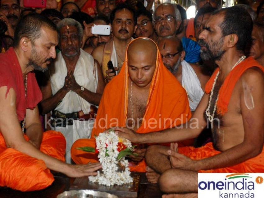 Udupi Admaru Mutt Seer Pattabhisheka ceremony Photos