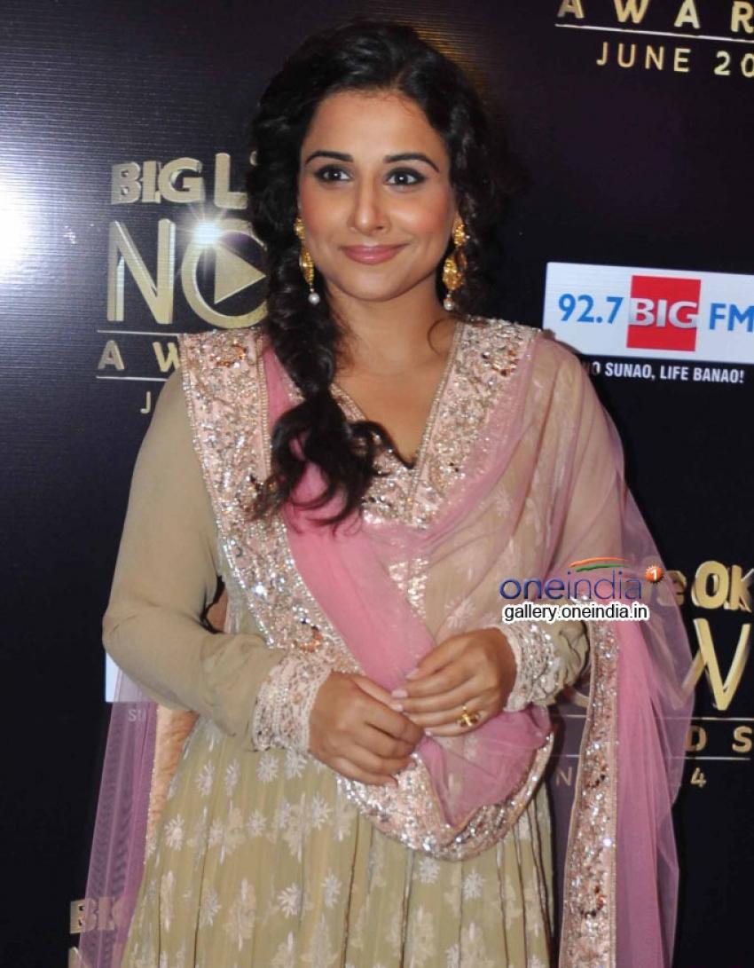 Vidya Balan at Life OK Awards Special Performance Shoot Photos