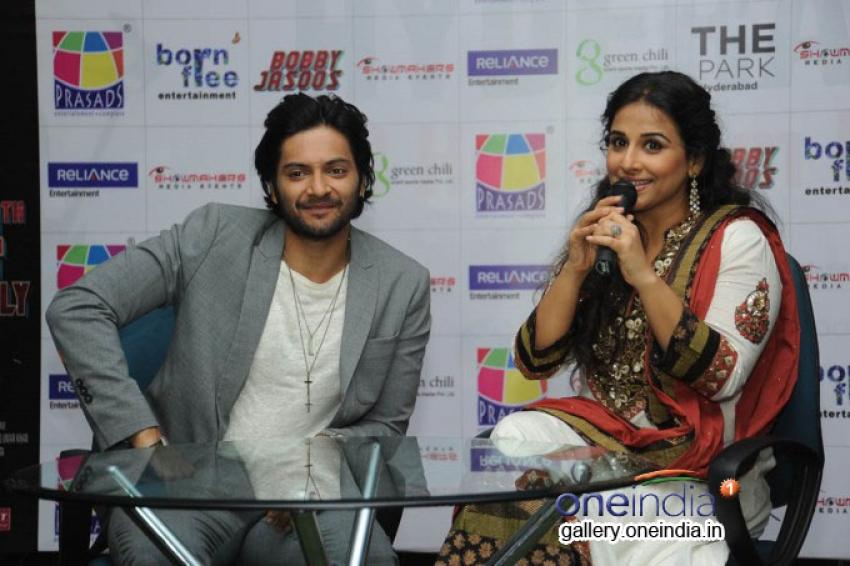 Vidya Balan Press Meet at Prasad Imax Photos
