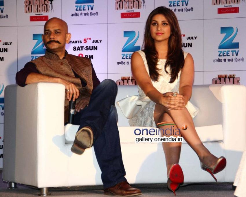 Parineeti and Ayushman at Cinestars Ki Khoj Launch Photos