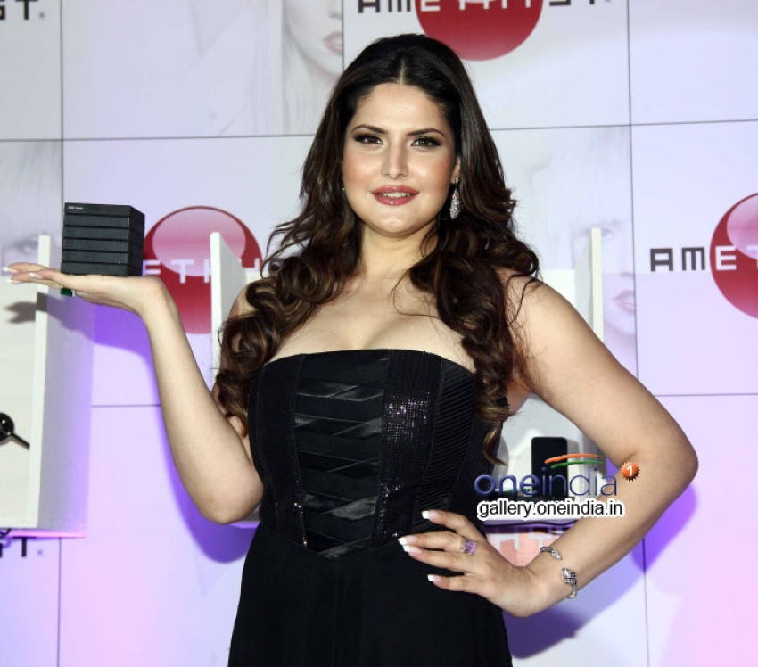 Zarine Khan Launches Amethyst in India Photos