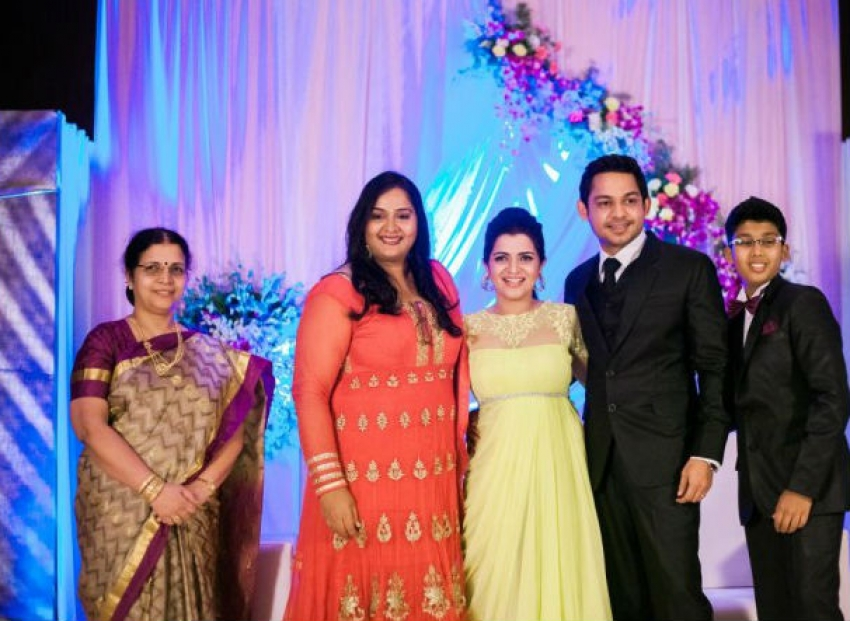 Divyadarshini Wedding Reception Photos