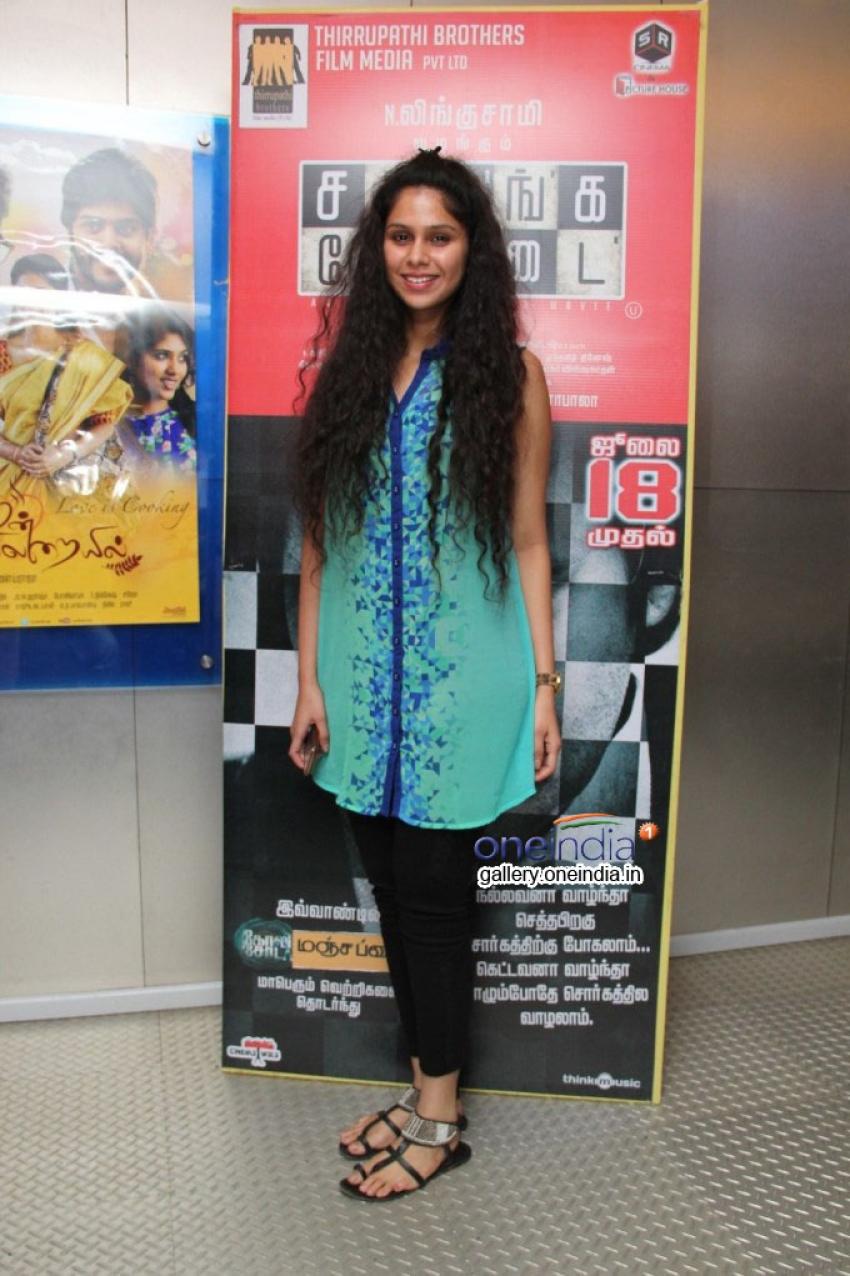 Sathuranga Vettai Premiere Show Photos