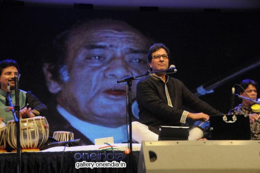 Rehmatein with the Launch of the Jagjit Singh's brother Kartar Singh Photos