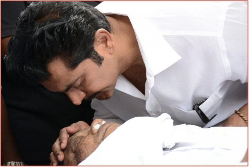 Kadhal Dhandapani Death Funeral Photos
