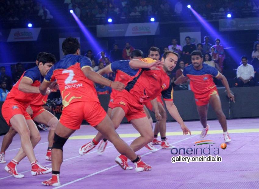 Abhishek Bachchan at Pro Kabaddi Match Photos