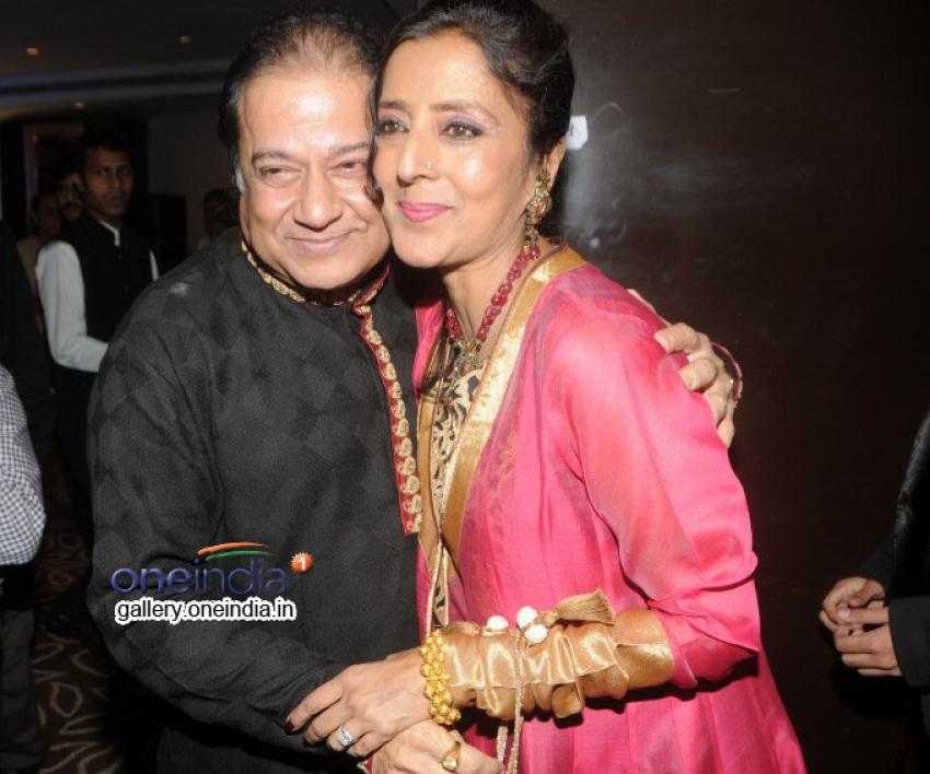 Anup Jalota Celebrated his Birthday this Eid Photos