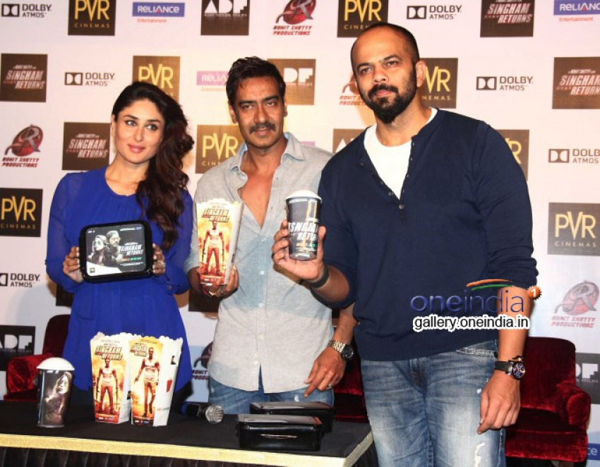Singham Returns Merchandise Launch Photos