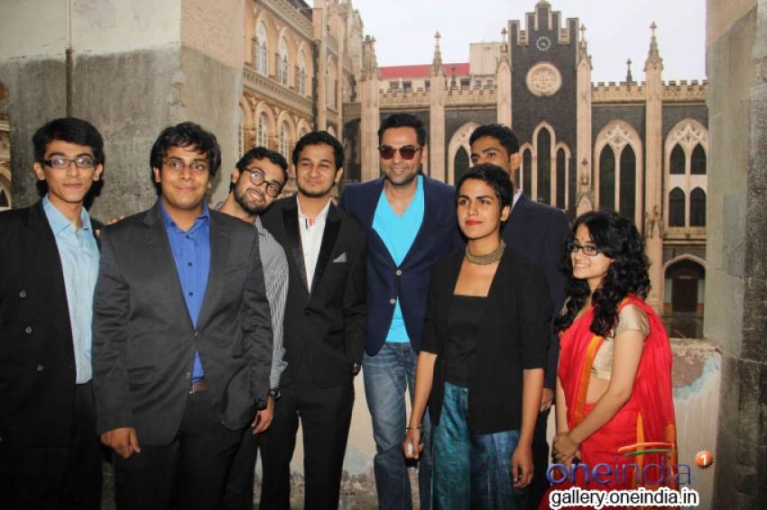 Abhay Deol Inaugurates Xavier's College festival Malhar 2014 Photos