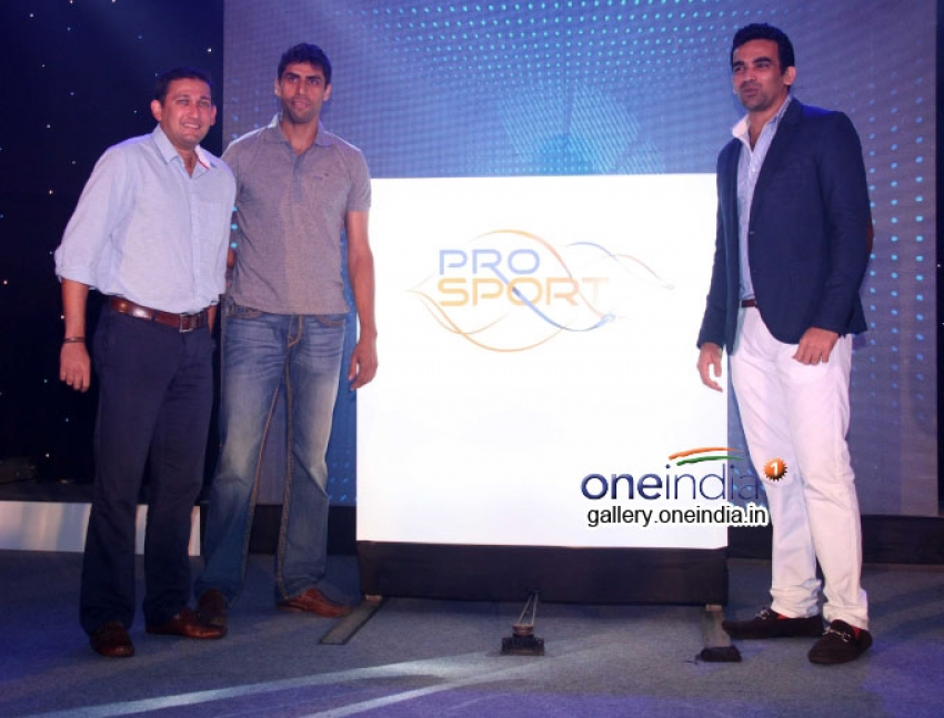 Zaheer Khan launches Pro Sport Fitness Physiotherapy Service Centre Photos