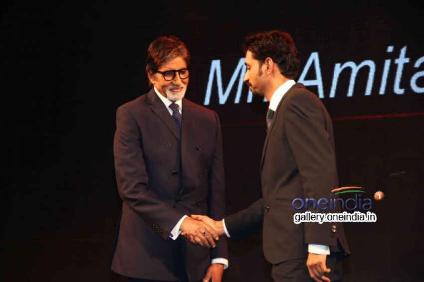Amitabh Bachchan launches LG G3 smart phone Photos