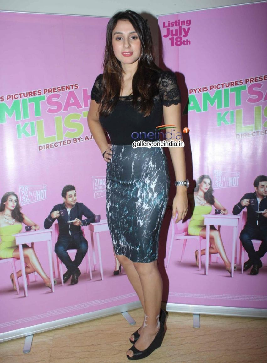 Media Interaction of Amit Sahni Ki List Photos