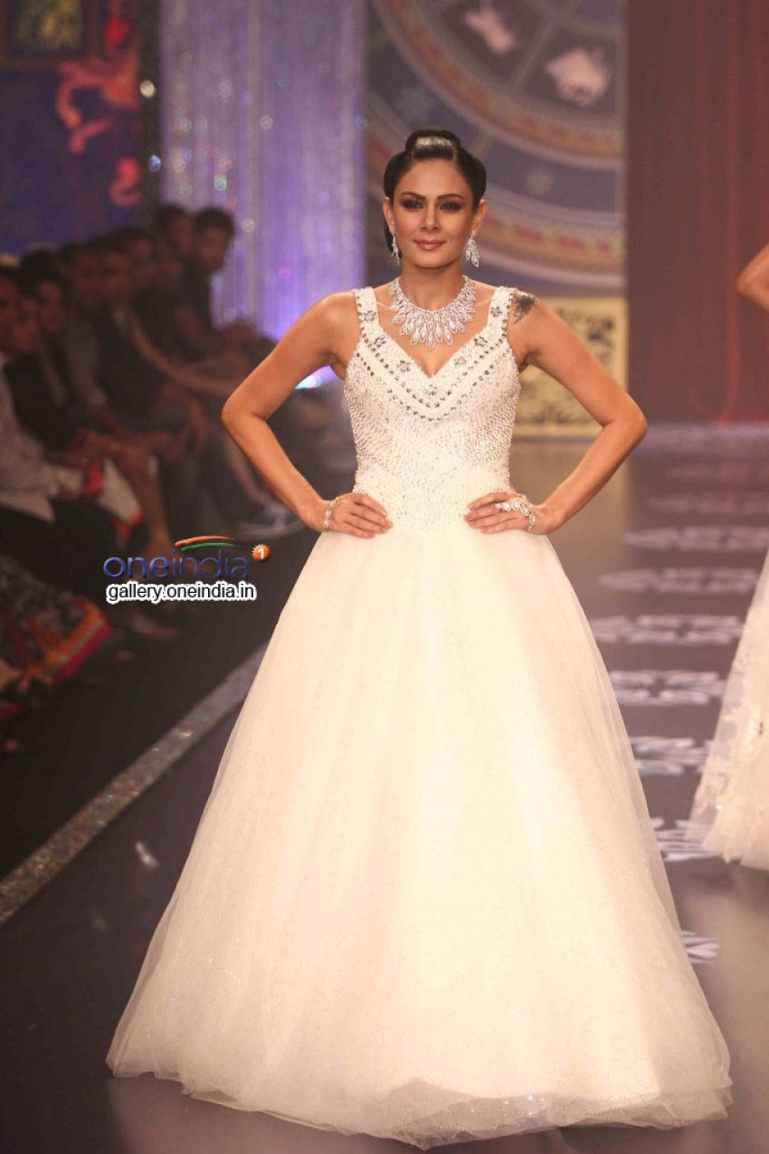 Celebs at Indian Jewellery Fashion Week 2014 Photos