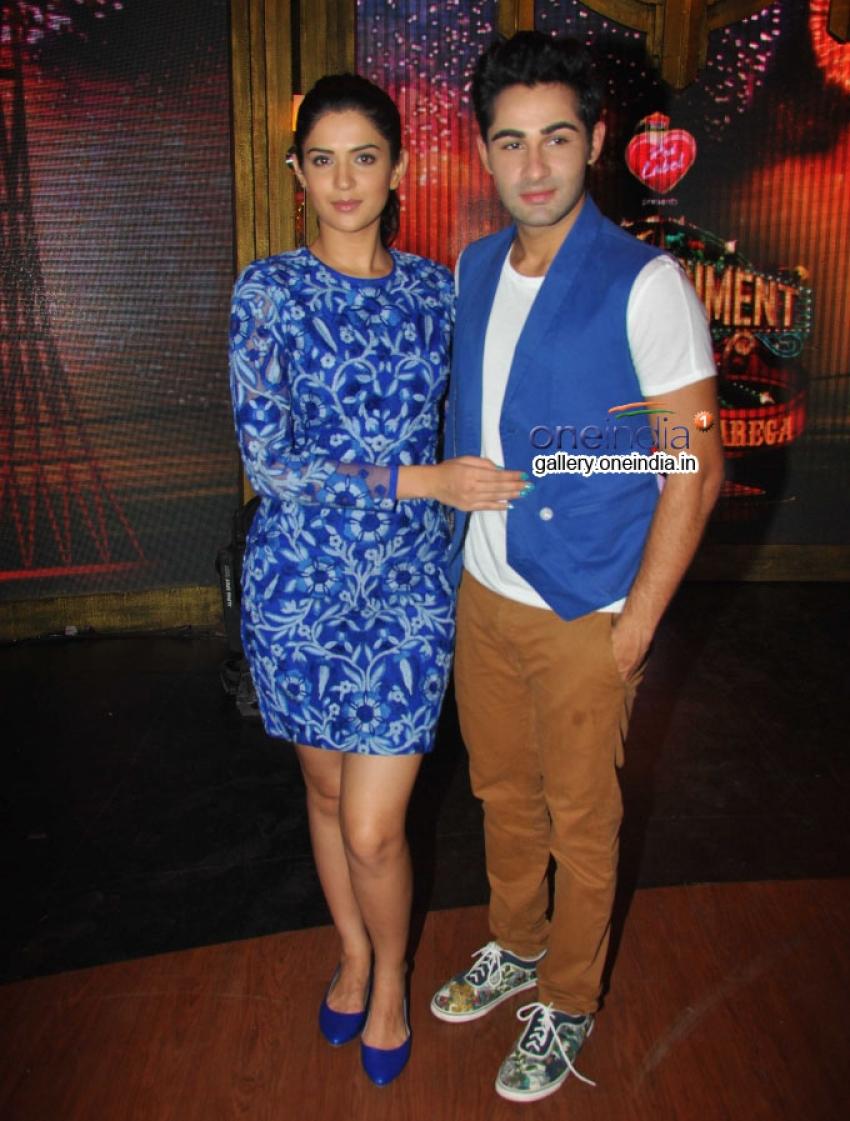 Lekar Hum Deewana Dil Promotion on Entertainment Ke Liye Kuch Bhi Karega Photos