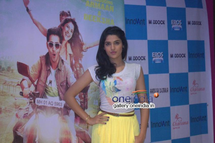 Deeksha Seth Visits Charisma Spa Photos