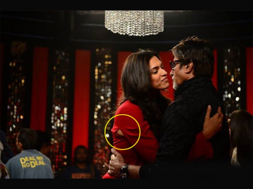 Deepika Padukone Oops Moment Photos