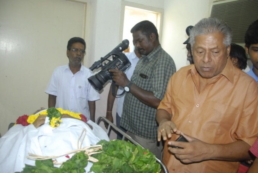 Kadhal Dhandapani Death Funeral Photos