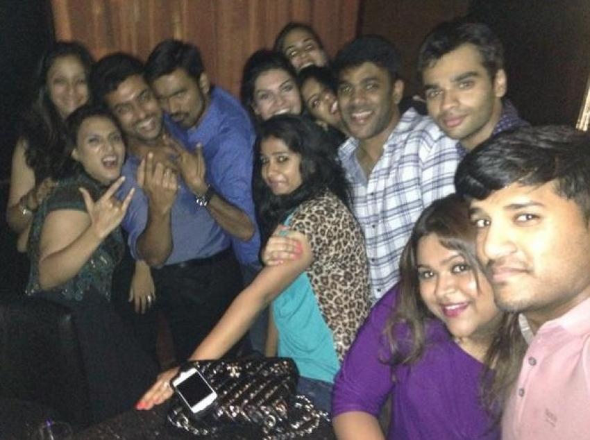 Dhanush Birthday Party 2014 Photos
