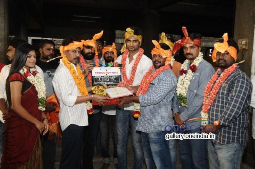Director Bala B Studios Production No 5 Pooja Photos