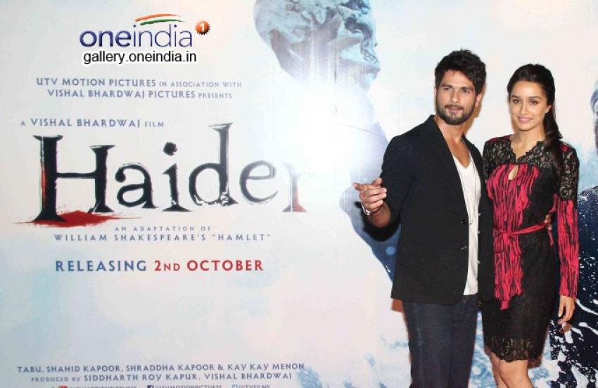 Haider Movie Trailer Launch Photos