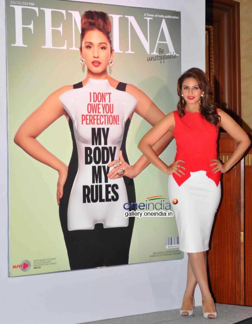 Huma Qureshi unveils new Femina Issue 'My Body My Rules' Photos