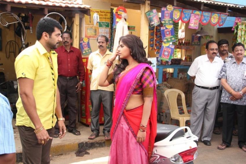 Jayam Ravi and Anjali's New Movie Launch Photos