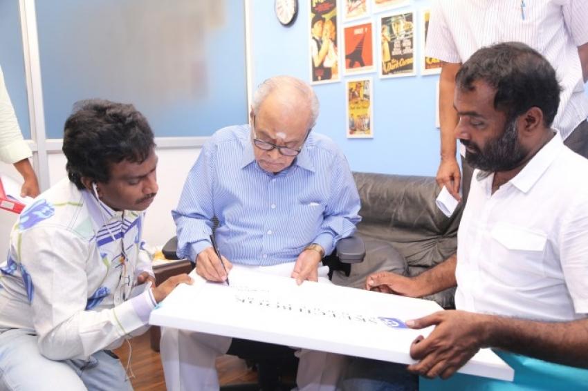 Director K. Balachander Inaugurated AP. Shreethar Sketchbook Productions Photos